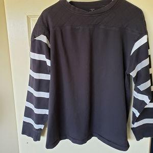 J. Peterman XL football jersey. Vntg '30s styles.